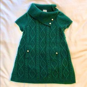 Janie and Jack sweater dress, 12-18M